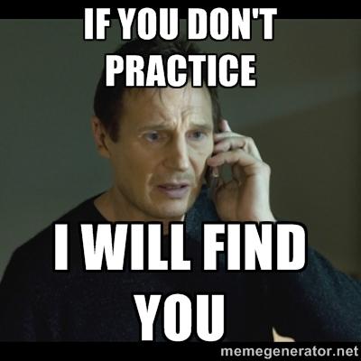 practice meme